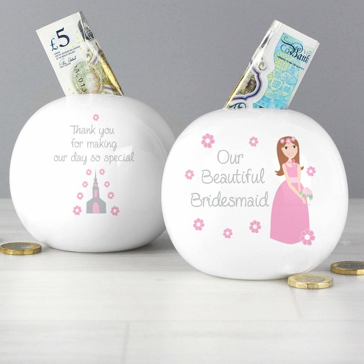 Fabulous Bridesmaid Money Box-Money Box-Give Personalised Gifts