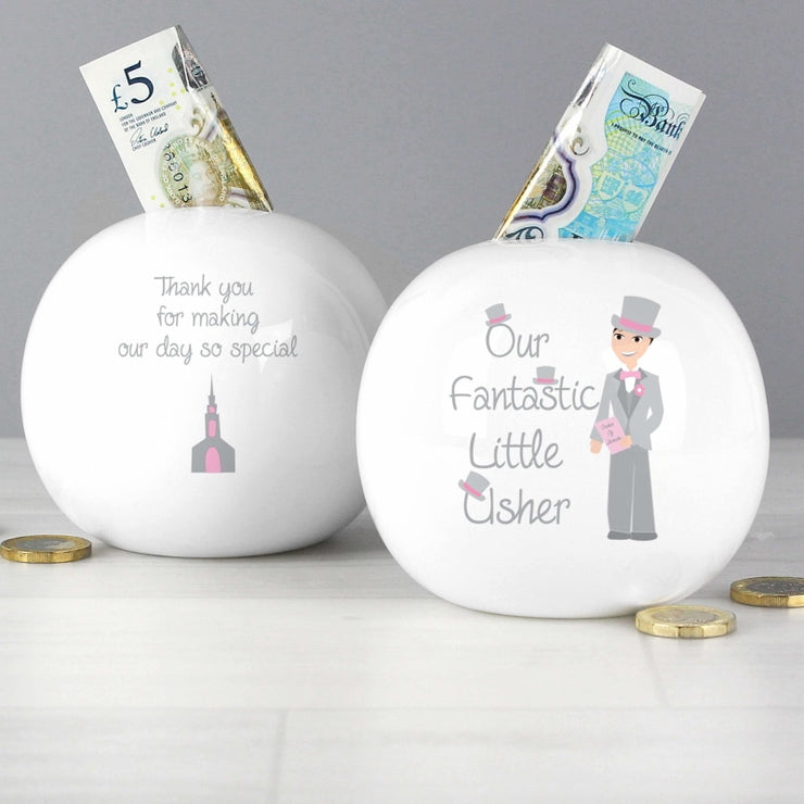 Fabulous Usher Money Box-Money Box-Give Personalised Gifts