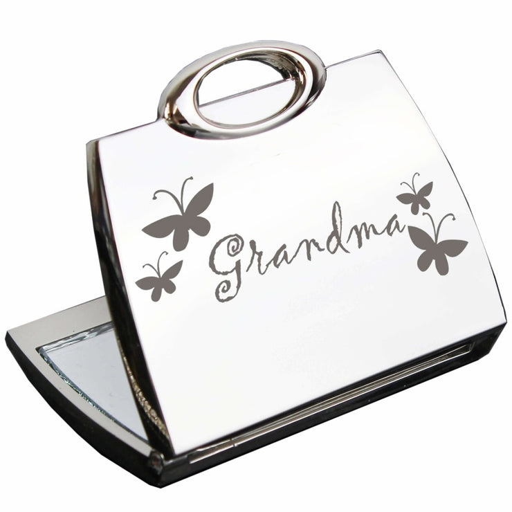 Grandma Handbag Compact Mirror-Compact Mirror-Give Personalised Gifts