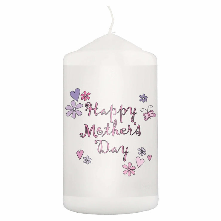 Happy Mother's Day Candle-Candles & Holder-Give Personalised Gifts