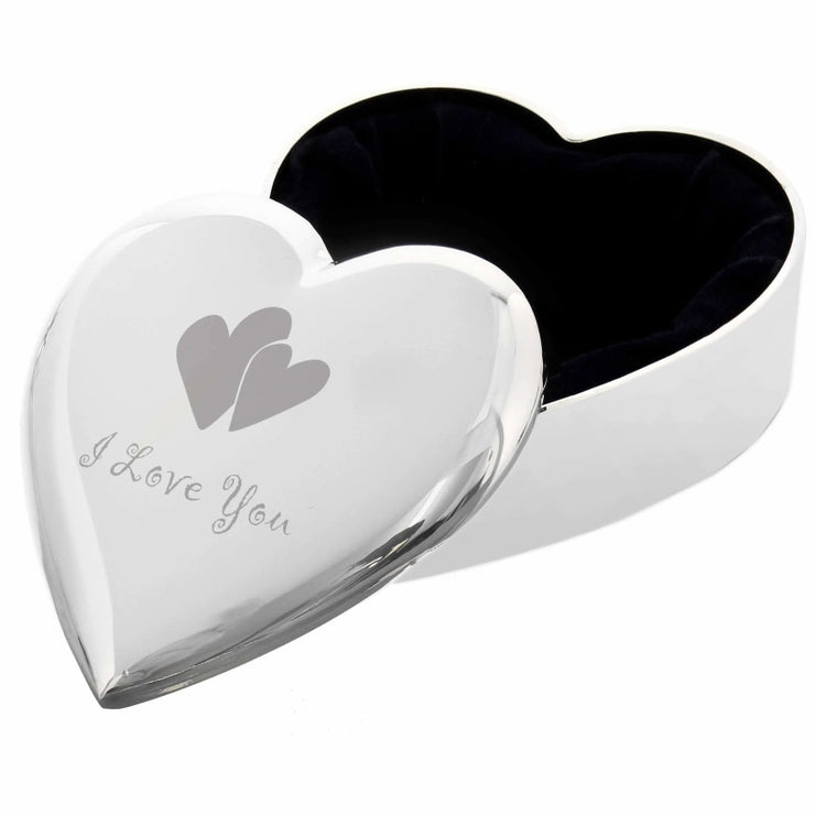 I Love You Heart Trinket Box-Trinket Box-Give Personalised Gifts