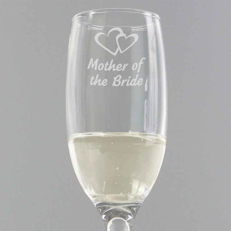 Mother of Bride Single Flute-Flute-Give Personalised Gifts