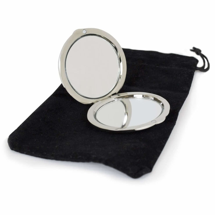 Mummy Round Compact Mirror-Compact Mirror-Give Personalised Gifts