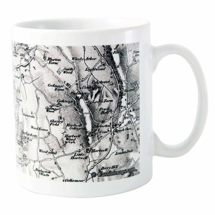 Personalised 1805 - 1874 Old Series Map Mug-Mugs-Give Personalised Gifts
