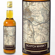 Personalised 1896 - 1904 Revised New Map Whisky-Whisky-Give Personalised Gifts