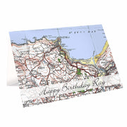 Personalised 1919 - 1926 Popular Edition Map Card-Personalised Cards-Give Personalised Gifts