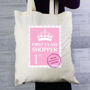 Personalised 1st Class Cotton Bag-Cotton Bag-Give Personalised Gifts
