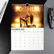 Personalised A4 Hot Chicks Calendar-Calendar-Give Personalised Gifts