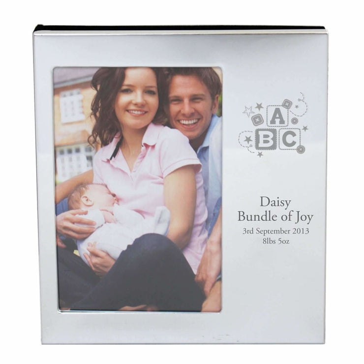 Personalised ABC Photo Frame Album 4x6-Photo Album-Give Personalised Gifts