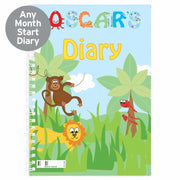 Personalised Animal Alphabet - A5 Diary-Diary-Give Personalised Gifts