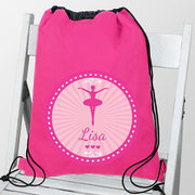 Personalised Ballerina School & Dance Bag-Swim and Kit Bags-Give Personalised Gifts