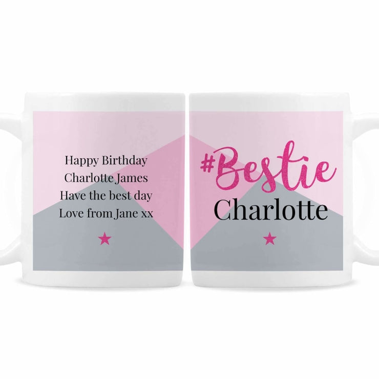 Personalised #Bestie Mug-Mugs-Give Personalised Gifts