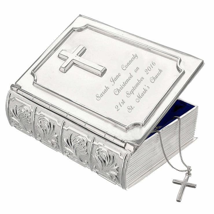 Personalised Bible Trinket Box-Trinket Box-Give Personalised Gifts