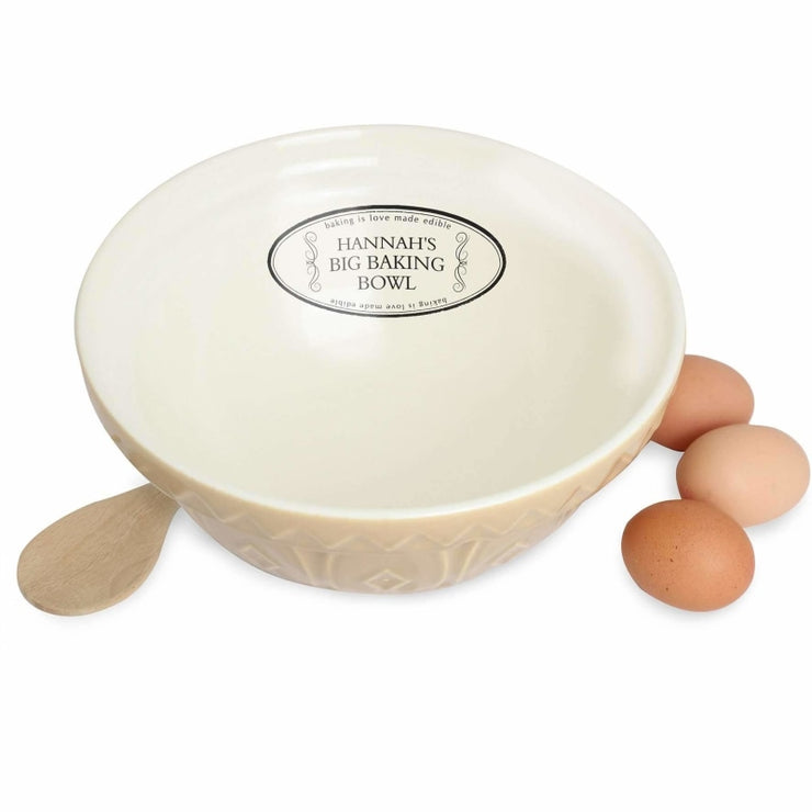 Personalised Big Mixing Bowl-Mixing Bowl-Give Personalised Gifts
