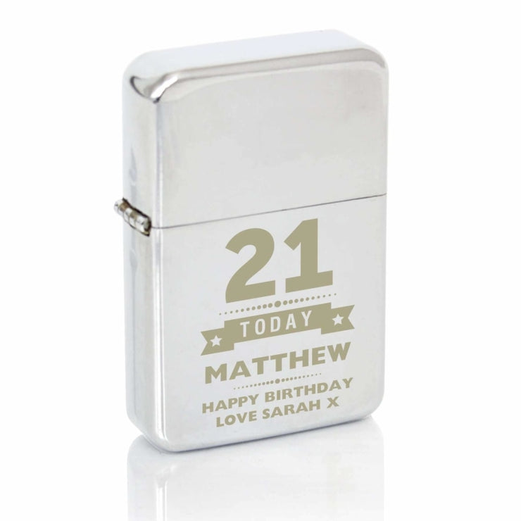 Personalised Birthday Star Lighter-Lighter-Give Personalised Gifts