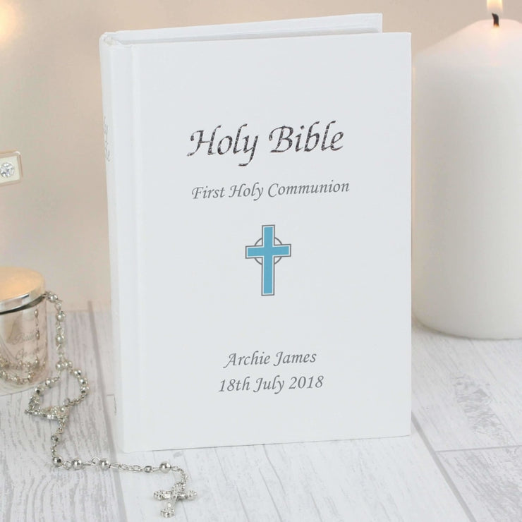 Personalised Blue Cross Bible-Books-Give Personalised Gifts