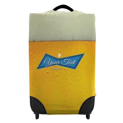 Personalised Blue Label Luggage or Suitcase cover-Luggage Cover-Give Personalised Gifts