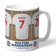 Personalised Bolton Wanderers FC Dressing Room Mug-Mugs-Give Personalised Gifts
