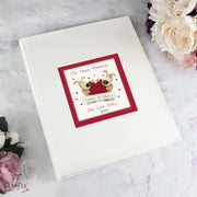 Personalised Boofle Shared Heart Album with Sleeves-Photo Album-Give Personalised Gifts