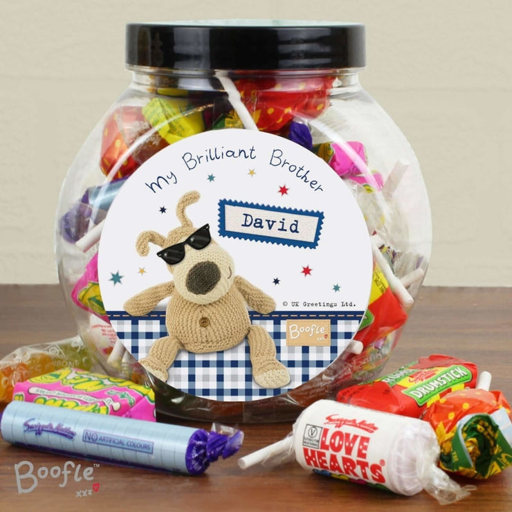 Personalised Boofle Stars Sweet Jar-Sweets & Diaries-Give Personalised Gifts