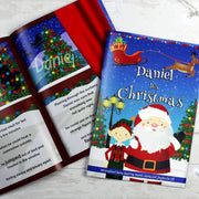 Personalised Boys It's Christmas Story Book-Story Book-Give Personalised Gifts