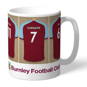 Personalised Burnley FC Dressing Room Mug-Mugs-Give Personalised Gifts