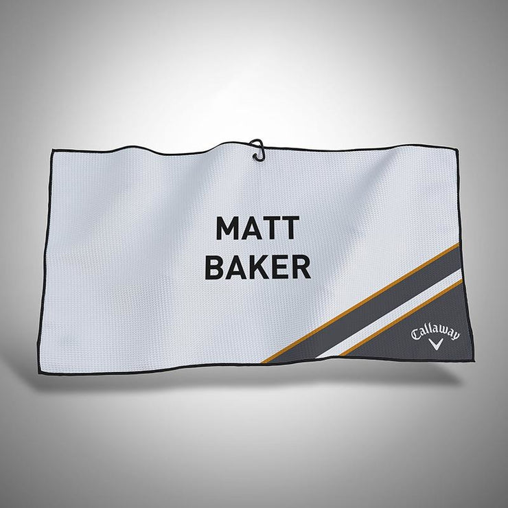 Personalised Callaway Golf Players Towel - Lumi 2.0