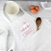Personalised Cat Children's Apron-Apron-Give Personalised Gifts