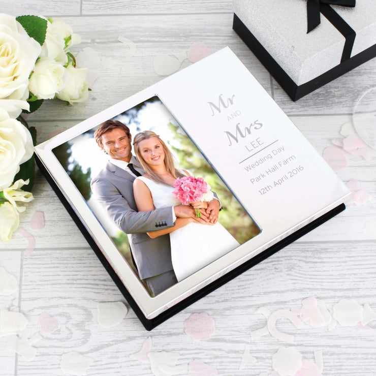 Personalised Classic Frame Album 4x6-Photo Album-Give Personalised Gifts
