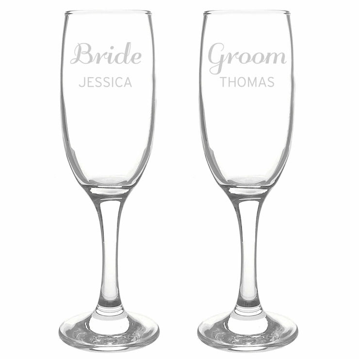 Personalised Classic Pair of Flutes-Flute-Give Personalised Gifts