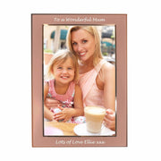 Personalised Classic Rose Gold 4x6 Frame-Frame-Give Personalised Gifts