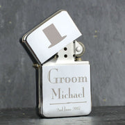 Personalised Decorative Wedding Groom Lighter-Lighter-Give Personalised Gifts
