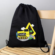 Personalised Digger Black Swim & Kit Bag : 25% off-Swim and Kit Bags-Give Personalised Gifts