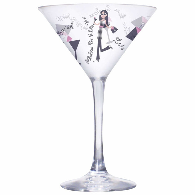 Personalised Fabulous Birthday Girl Cocktail-Beverage & Accessories-Give Personalised Gifts