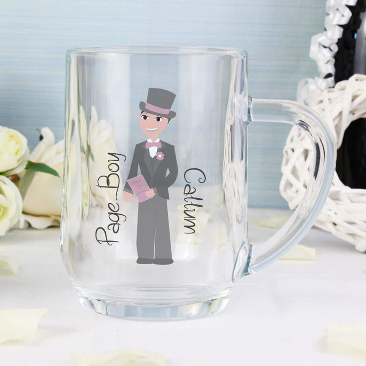 Personalised Fabulous Page Boy Tankard-Tankard-Give Personalised Gifts