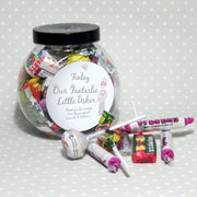 Personalised Fabulous Usher Round Sweet Jar-Candles & Holder-Give Personalised Gifts