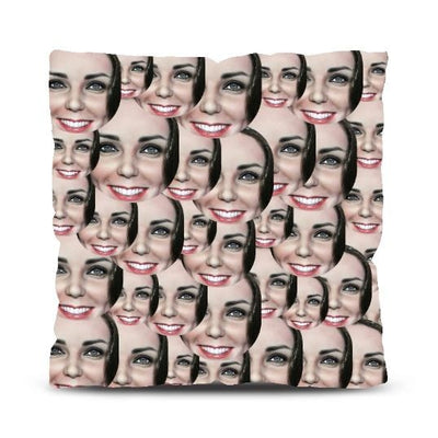 Personalised Face All Over Cushion
