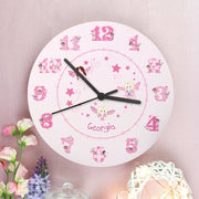 Personalised Fairy Clock-Clock-Give Personalised Gifts