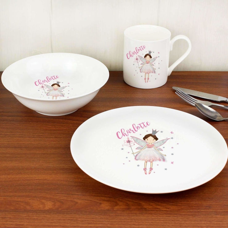Personalised Fairy Princess Breakfast Set-Kids Cutlery-Give Personalised Gifts