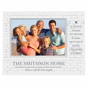 Personalised Family 7x5 Box Photo Frame-Photo Frame-Give Personalised Gifts