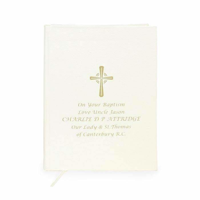 Personalised Gold Companion Holy Bible - Eco-friendly-Books-Give Personalised Gifts