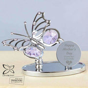 Personalised Happy Mother's Day Crystocraft Butterfly-Jewellery-Give Personalised Gifts