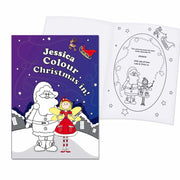 Personalised 'It's Christmas' Fairy Colouring Book-Kids Books-Give Personalised Gifts