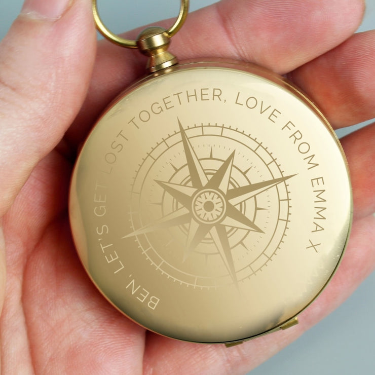 Personalised Keepsake Compass-keepsake-Give Personalised Gifts