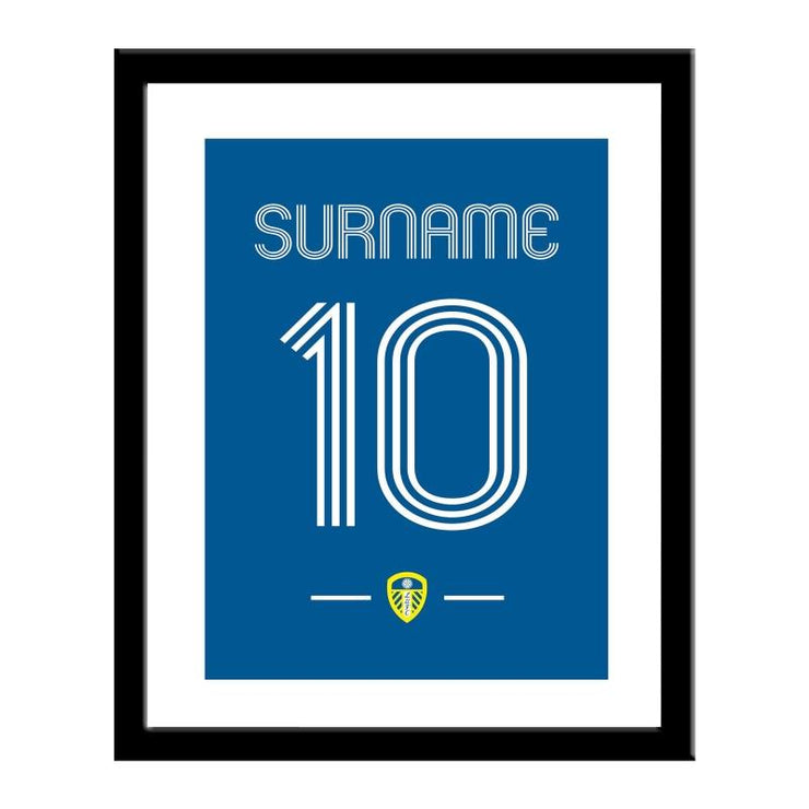 Leeds United FC Retro Shirt Print