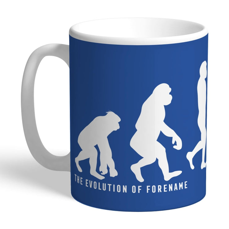 Personalised Leicester City FC Evolution Mug