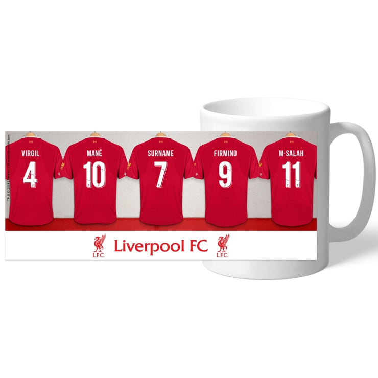 Personalised Liverpool FC Dressing Room Mug-Mugs-Give Personalised Gifts