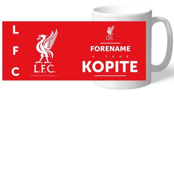 Personalised Liverpool FC True Kopite Mug-Mugs-Give Personalised Gifts