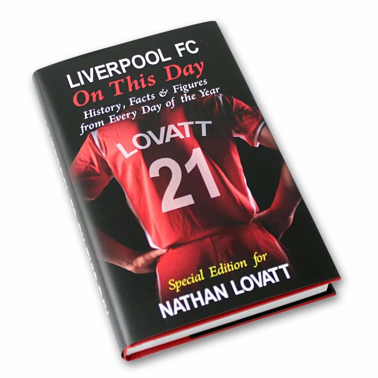 Personalised Liverpool On This Day Book-Books-Give Personalised Gifts