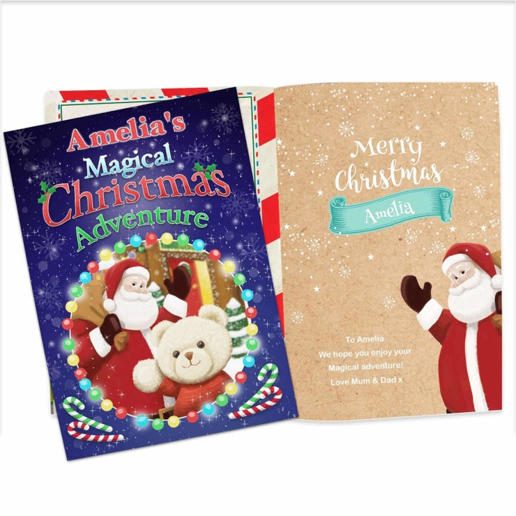 Personalised Magical Christmas Adventure Story Book-Story Book-Give Personalised Gifts